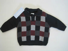 Brand New Gymboree Train Time Sweater Boy's Size 12-18 Month