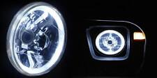 White Halo H4 Headlight Angel Eye Toyota Landcruiser 40 47 55 60 70 75 78 Series