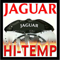 JAGUAR HI - TEMP CAST VINYL BRAKE CALIPER DECALS STICKERS CAST GRAPHICS CALIPERS