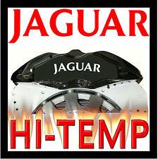 JAGUAR HI - TEMP CAST VINYL BRAKE CALIPER DECALS STICKERS CAST GRAPHICS CALIPERS