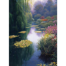 Candamar Cross Stitch Kit - View From Monet's Bridge