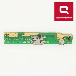 Alcatel 1C 2019 (5003D) - Genuine USB Charging Port Dock With Mic - Fast P&P