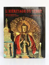 L'héritage du Tibet …l'art bouddhique au Tibet. DETLEF INGO LAUF. Elsevier 1973.
