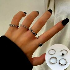 Women Finger For Girl Lady Party Gift Fashion Jewelry Ring Hot Metal Alloy Round