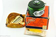 Shakespeare True Art Automatic Fly Fishing Reel in Box Line Etc JJ37