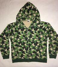 BAPE Original ABC camo green full zip hoodie Authentic Made in Japan