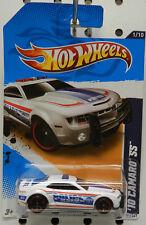 CHEVY CAMARO SS POLICE WHITE 2010 10 131 REDLINES 2012 HW HOT WHEELS