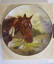 Gregory Perillo THE COMANCHE Horse Tribal Ponies Collector PLATE #669 of 3,500