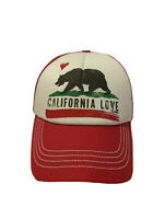 Billabong Snapback Red Mesh Trucker Hat California Love