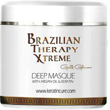 Brazilian Therapy Deep Conditioner Hair Cream Argan Oil by Keratin Cure 500g/17o