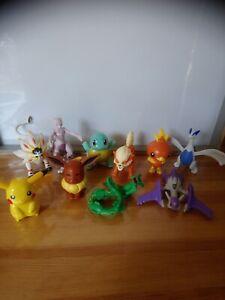 Lot de 8 figurines pokemon Mac Donald's et 2 Burger kings.