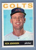 1964 Topps #158 Ken Johnson EX-MT    GO438