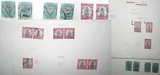 Union Of South Africa Stamps Collection Varieties 1934 to 1941 Rare Stamp Sets
