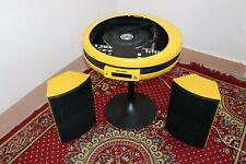 1970'S Rare Vintage Weltron 2005 Space Age Stereo System With Speakers,Working.