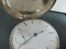 VACHERON - GENEVA SILVER POCKET WATCH  KEY WINDING