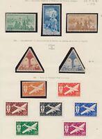 TIMBRES COLONIE COTE DES SOMALIS PA de 1943-1956 du N°1 à 26 Neuf **/*. N1932