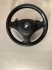 BMW 335i 335d 328i E9x E8x Steering wheel with padle shift Genuine