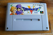 Jeu DRAGON QUEST V 5 pour Nintendo Super FAMICOM (Jap)