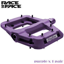 RaceFace Chester Mountain Bicycle MTB Bike Pedals - Purple Pair