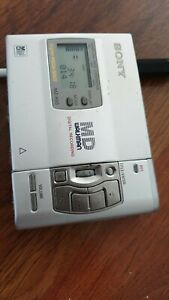Sony MD MZ R50 Minidisc Recorder/Player
