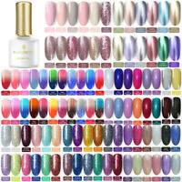 BORN PRETTY 6ml Soak off UV Gel Polish Glitter Sequins Shimmer Nail Art Varnish