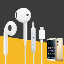 High Quality Type C Stereo Earphone Bass Headset Earbuds Built-In Microphone NEW