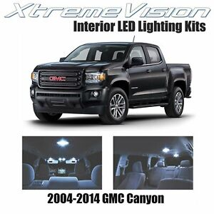 XtremeVision LED for GMC Canyon 2004-2014 (6 Pieces) Cool White Premium Interior