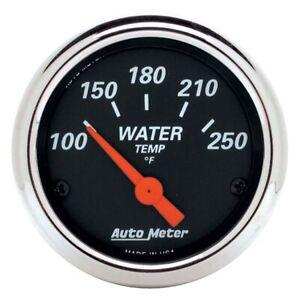 AutoMeter 1436 Designer Black Air-Core Water Temperature Gauge