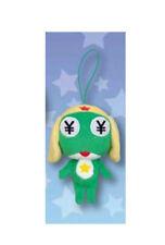 NEW Sgt. Frog Greedy Keroro Plush Mascot Keychain 13cm AMU-PRZ6070 US Seller