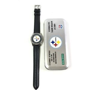 Pittsburgh Steelers Commemorative Wristwatch Superbowl 1979 Game Time NFL