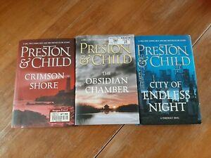 Douglas Preston Lincoln Child Book Lot Pendergast Series