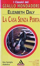 LA CASA SENZA PORTA  Daly  MONDADORI-GIALLO MONDADORI N.848
