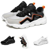Mens Fashion Sneakers Shoes Outdoor Running Sports Mesh Breathable Gym Casual B