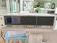Vintage Technics Model Sh-8055 Stereo Graphic Equalizer Tested and Working