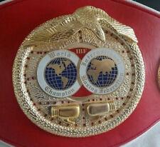 IBF Boxing Championship Belt International Boxing Federation Adult Replica