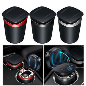Car Ashtray Detachable Smell Proof Ash Tray Washable for Car Home Travel
