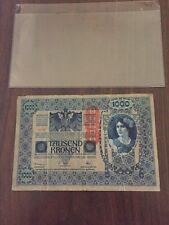 AUSTRIA Banknote 1000 Kronen 1902