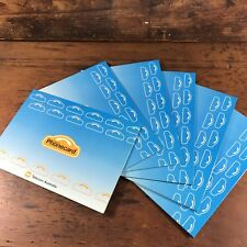 6x MINT TELECOM 1990 $5 GENERIC PHONECARDS IN FOLDER CONSECUTIVE NUMBERS