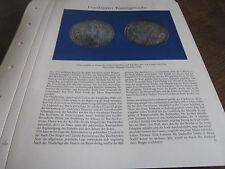 Frankfurt Archiv 8 Kunstgewerbe 5009 Silbermedallie Stadtschultheißem 1611