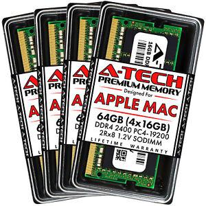 "64GB Kit 4x 16GB DDR4 2400 Mac Memory RAM for APPLE iMac Mid 2017 5K 27"" A1419"