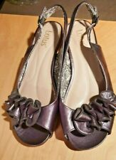 NEW DESIGNER LOTUS BRONZE METALLIC LOOK LEATHER SANDALS SIZE 6 W RRP £45