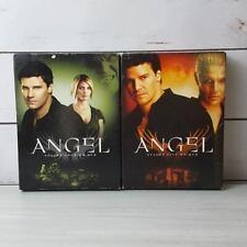 Angel Lot of 2 Season 4 & 5 DVD Box Set Vampires Joss Whedon David Boreanaz