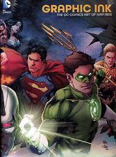 GRAPHIC INK: THE DC COMICS ART OF IVAN REIS HARDCOVER Comics & Cover Art HC Comic Art