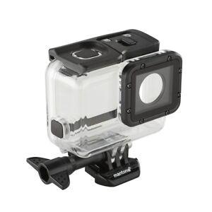 mantona Unterwassergehäuse Soft Touch Magic für GoPro5, bis 60 m Wassertiefe