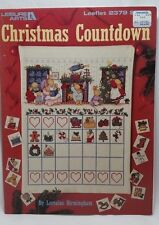Christmas Countdown Cross Stitch Pattern Chart # 2379 Advent Calendar OOP