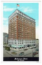 AK US USA Post Card Melbourne Hotel ST. LOUIS ungelaufen v. 1945