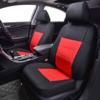 Universal Car Seat Covers Oxford Waterproof Black Red For Women Girls Car Truck