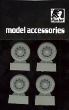 Hauler Models 1/35 CITROEN 11CV STAFF CAR WHEELS Resin Set