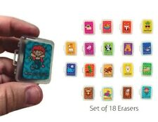 Set of 18 Scented & Kneadable Fidget Erasers Animal Themed Adorkable Set
