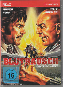 Blutrausch - Dreckige Wölfe (DVD) mit Franco Nero, Telly Savalas WIE NEU!